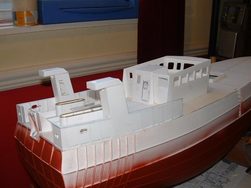 Model Slipway's Maggie M Build DSCF0217