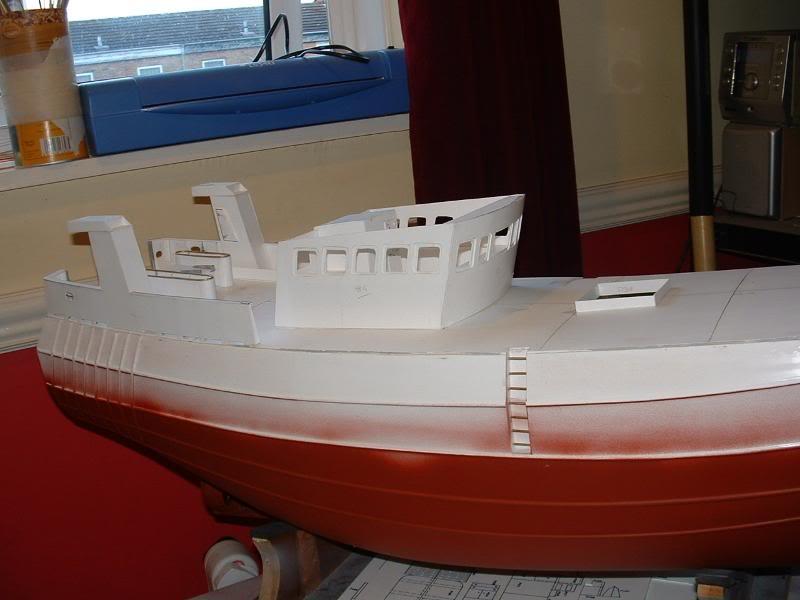 Model Slipway's Maggie M Build DSCF0218