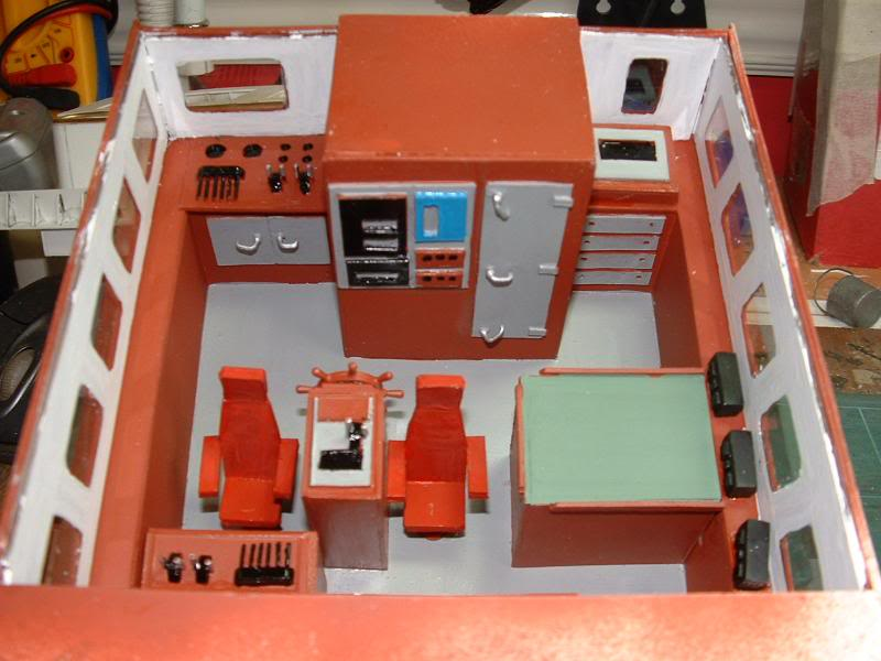 Model Slipway's Maggie M Build DSCF0221