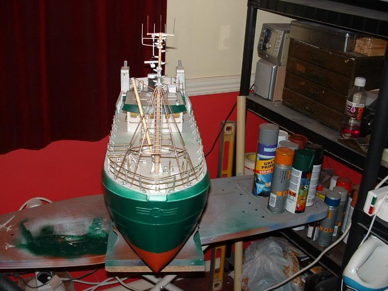 Model Slipway's Maggie M Build DSCF0229