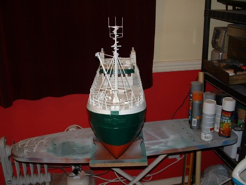 Model Slipway's Maggie M Build DSCF0231