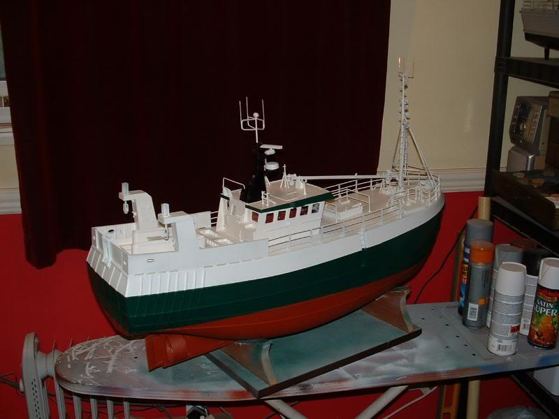 Model Slipway's Maggie M Build DSCF0232