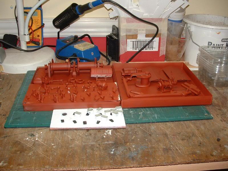 Model Slipway's Maggie M Build DSCF0233