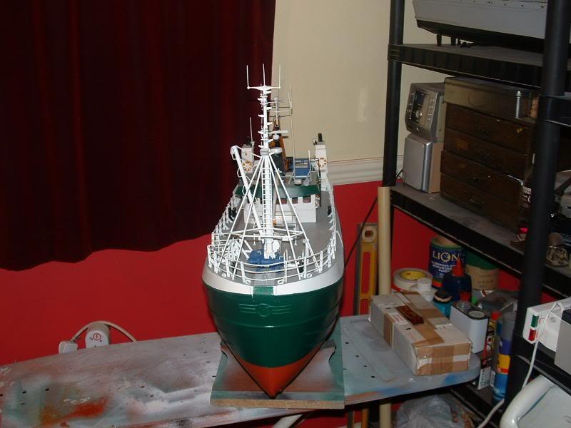 Model Slipway's Maggie M Build DSCF0234