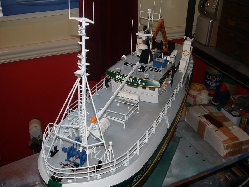 Model Slipway's Maggie M Build DSCF0239