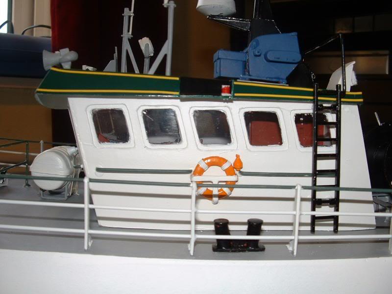 Model Slipway's Maggie M Build DSCF0241