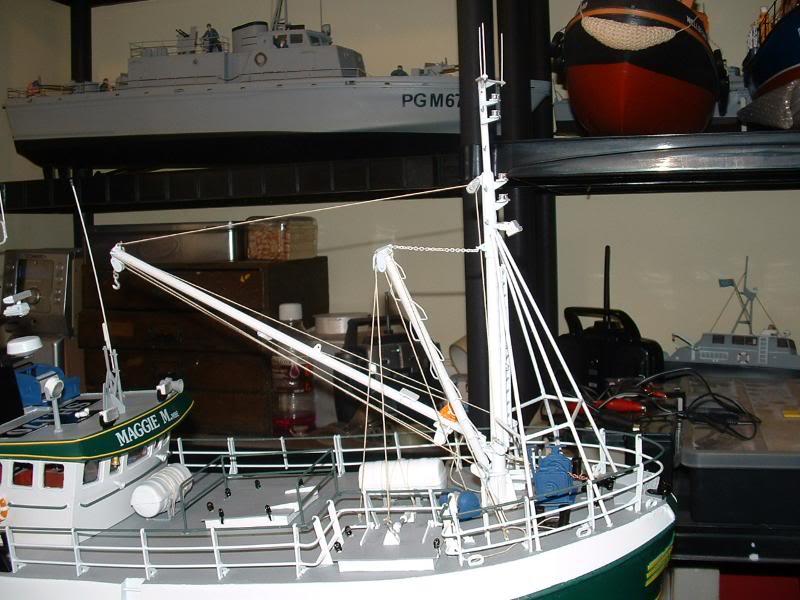 Model Slipway's Maggie M Build DSCF0243