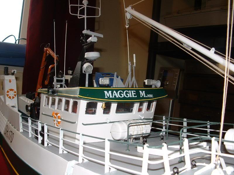 Model Slipway's Maggie M Build DSCF0244
