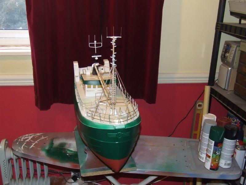 Model Slipway's Maggie M Build DSCF2490