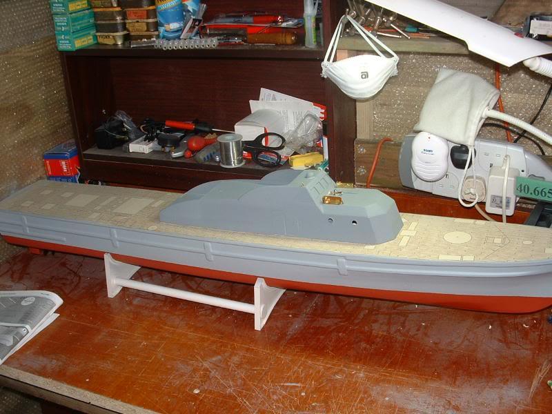 Robbe Schuetze build DSCF0052
