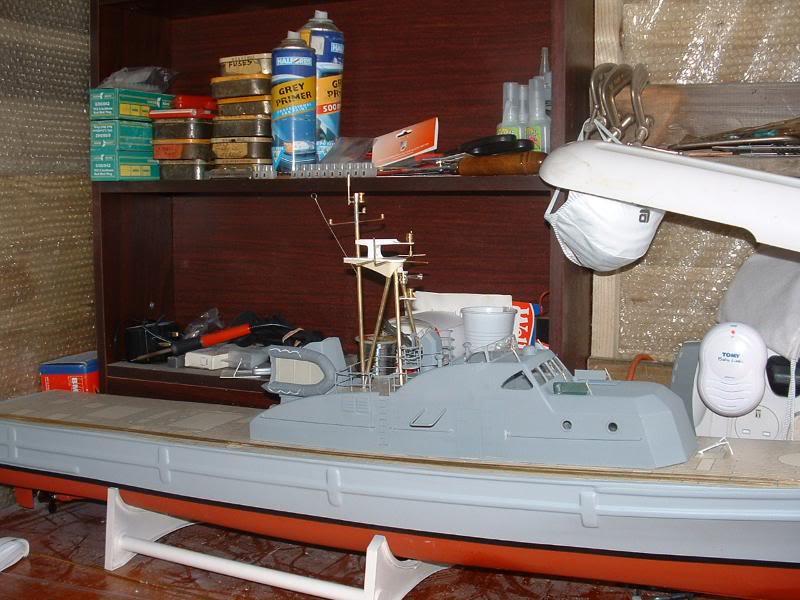 Robbe Schuetze build DSCF0062