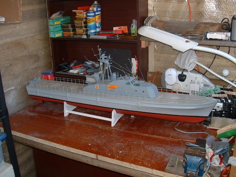 Robbe Schuetze build DSCF0070
