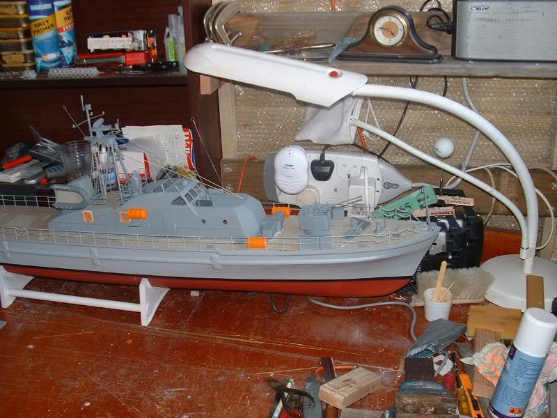 Robbe Schuetze build DSCF0072