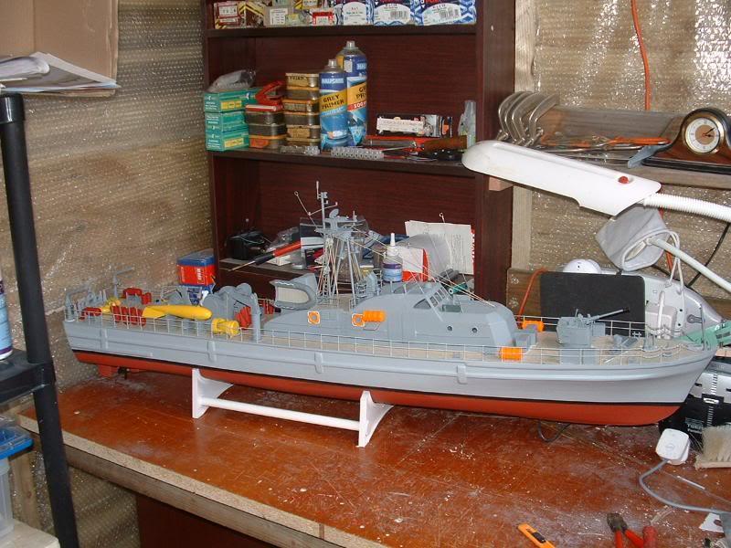 Robbe Schuetze build DSCF0075