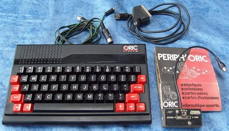 Quel a été votre première console ou ordi rétro et vos 1er jeux ? - Page 2 Oric