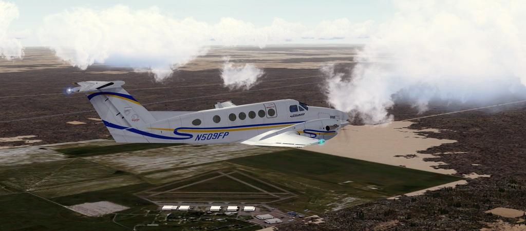Completando o voo do dia 26/10 CEJ 4 para CEN 4 1