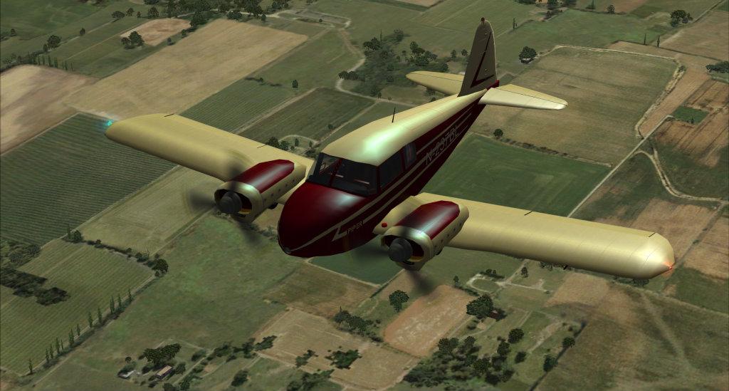 Piper PA-23 Apache... vintage arrumadinho! 10