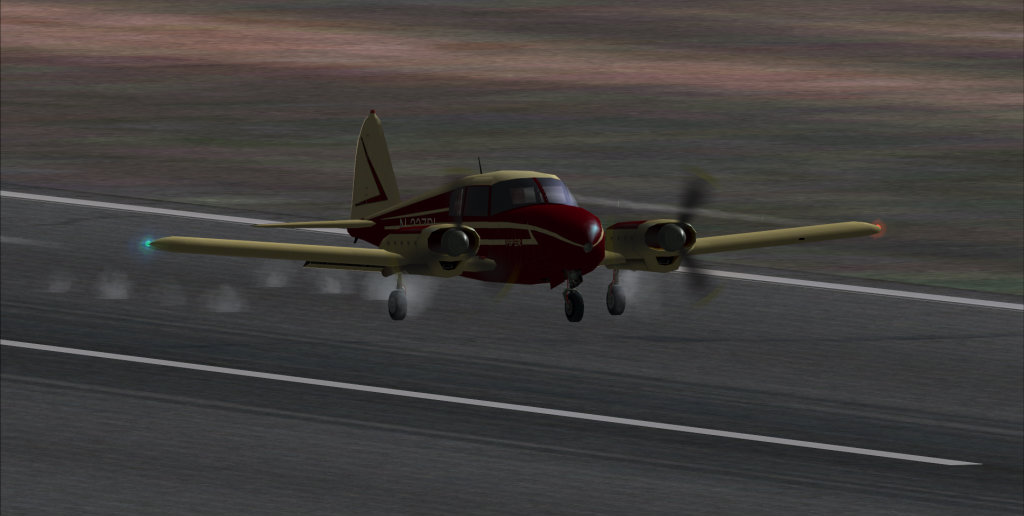 Piper PA-23 Apache... vintage arrumadinho! 16