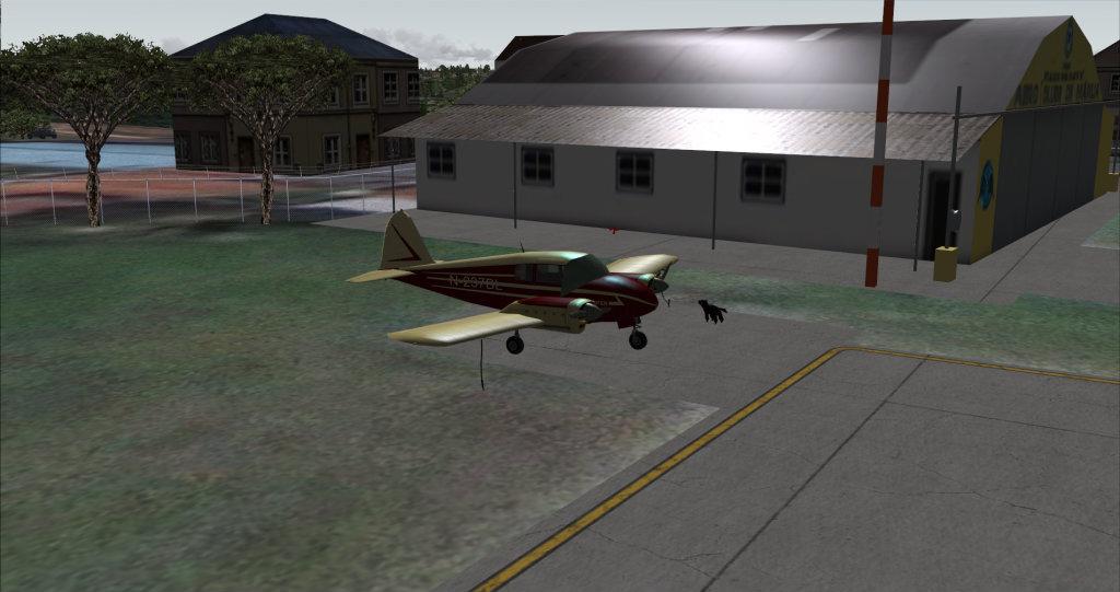 Piper PA-23 Apache... vintage arrumadinho! 19