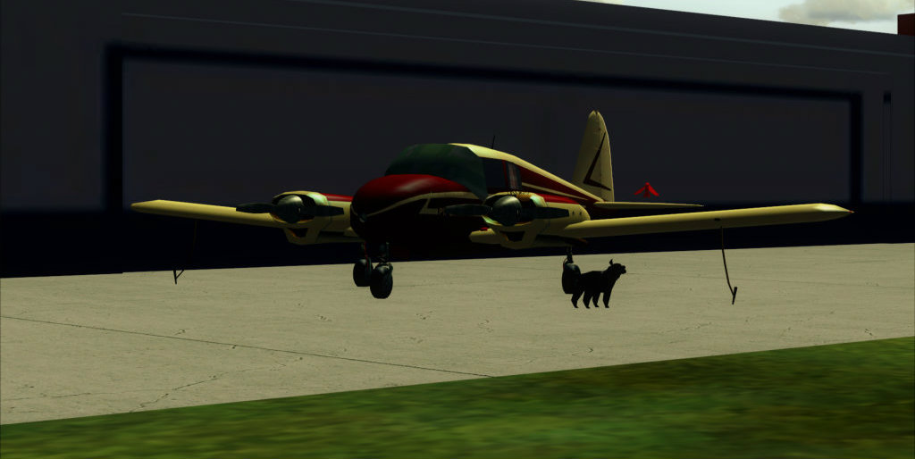 Piper PA-23 Apache... vintage arrumadinho! 2