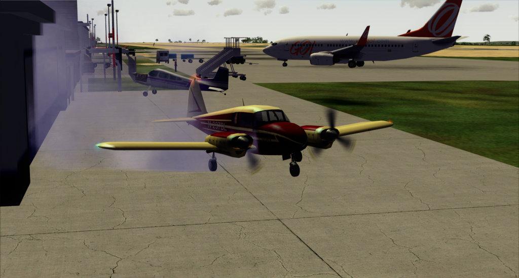 Piper PA-23 Apache... vintage arrumadinho! 5
