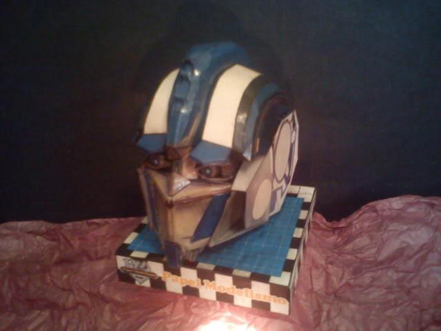 Optimus head  DSC00060
