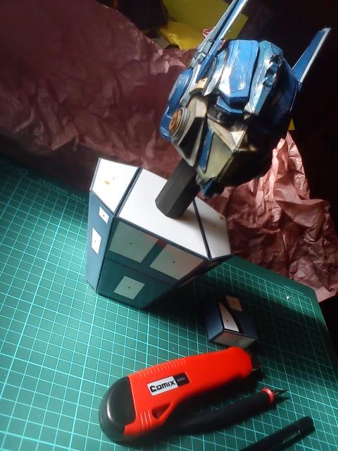 Optimus head  DSC00084