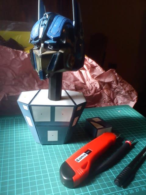 Optimus head  DSC00085
