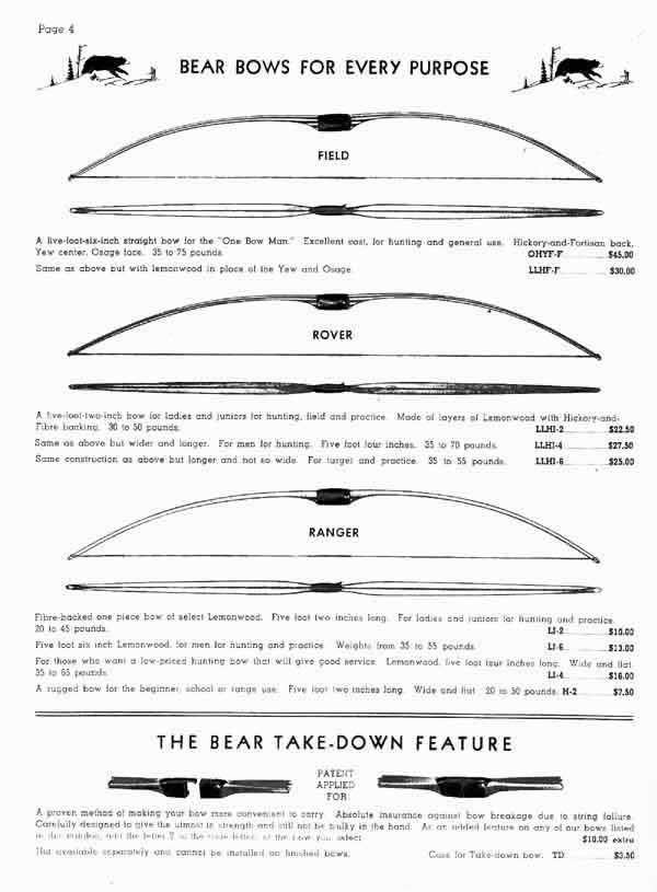 Fred Bear et les legendes de la chasse à l'arc  - Page 3 Bear-1948-pic1