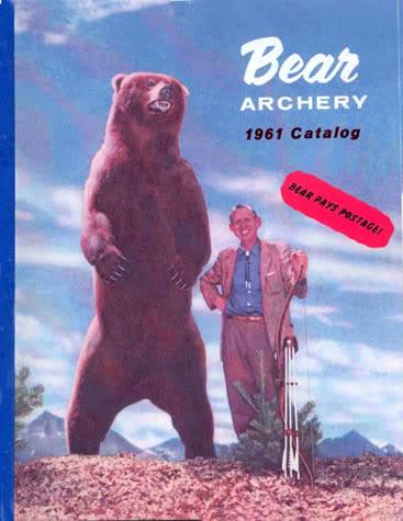 Fred Bear et les legendes de la chasse à l'arc  - Page 2 Bear-1961-cover