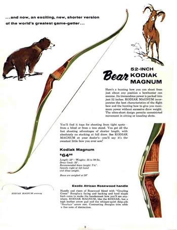Fred Bear et les legendes de la chasse à l'arc  - Page 2 Bear-1961-pic2