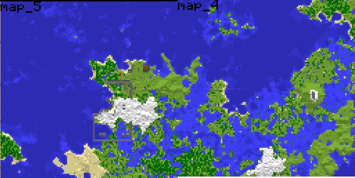 Hand-made map! MC-Map1