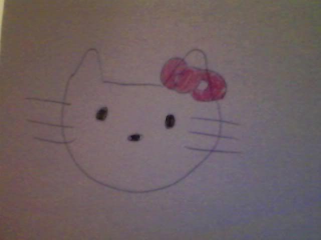 Hello Kitty Drawing HelloKittie