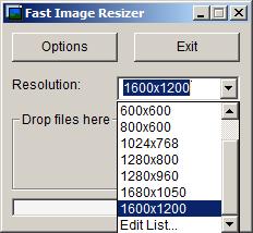 Fast Image Resizer v0.98 لتكبير الصورة حتي 500% مع الحفاظ علي جودتها تبرنامج ماماً 9-5