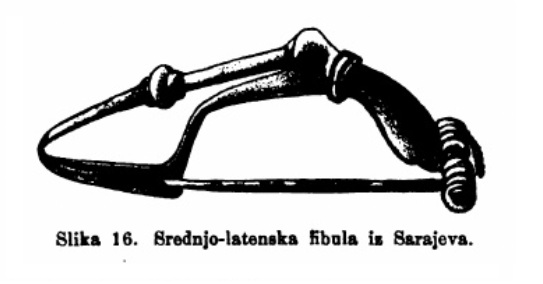 Predslavenski korijeni Bošnjaka - Kelti Fibula_zps976a21ee