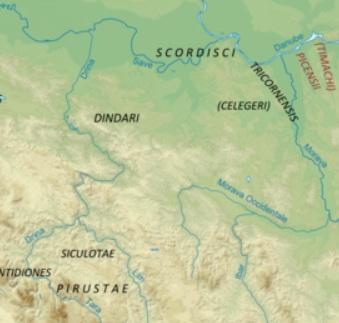 Predslavenski korijeni Bošnjaka - Kelti Mapa_zpsc80b88ae