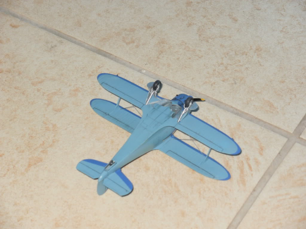 Beechcraft mod.17 Staggerwing  της AZmodel στην1/72 005