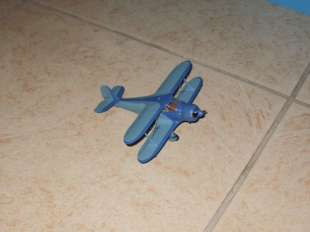 Beechcraft mod.17 Staggerwing  της AZmodel στην1/72 006