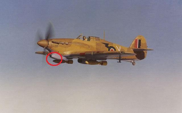 Hawker Hurricane MkIIc, 336ΜΔ, RHAF 1943. HurricaneIIbTropNo7
