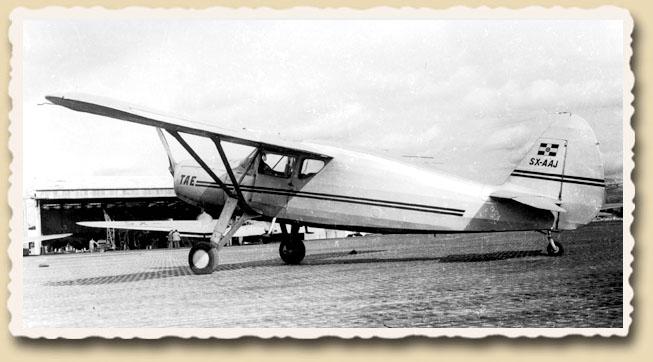 Fairchild Forwarder της T.A.E.  Xzoldfairchildforwarder