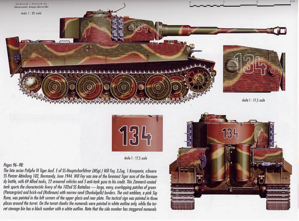 Looking for Tiger 1 Camo Pattern Help WillFey