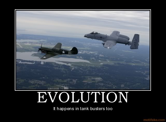 The Funny Side of the Military  Evolution-plane-war-a-10-tank-demot