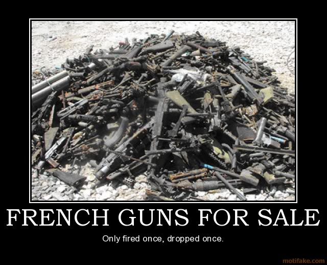The Funny Side of the Military  French-guns-for-sale-french-army-de