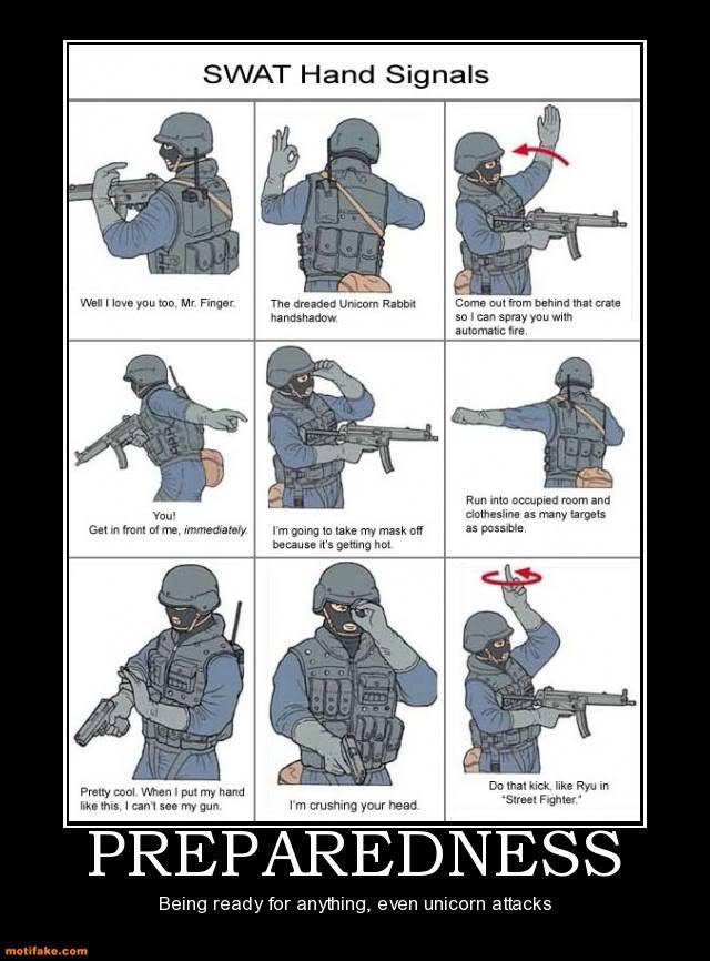 The Funny Side of the Military  Preparedness-preparedness-demotivat