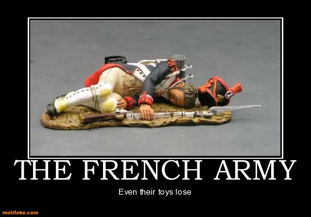 The Funny Side of the Military  The-french-army-toy-soldier-french-