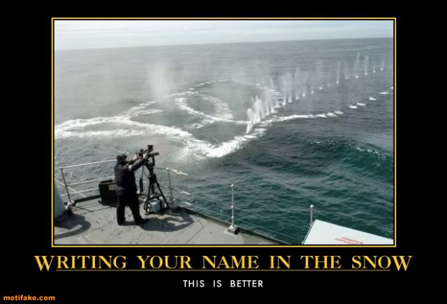 The Funny Side of the Military  Writing-your-name-in-the-snow-navy-
