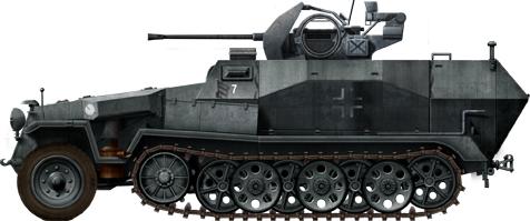 German Half Tracks SdKfz-251-17_Ausf-C_FLAK38_zps6931c242