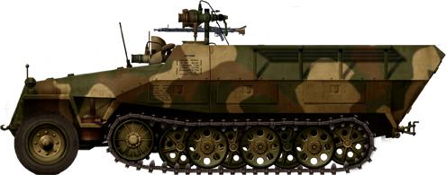 German Half Tracks SdKfz-251-20_Infrarotscheinwerfer_Falke_zpse4292a9f