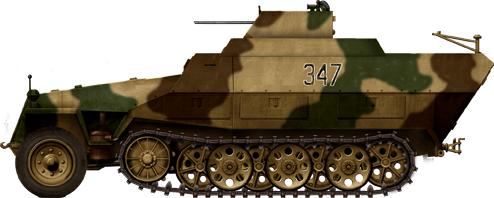 German Half Tracks SdKfz-251-21_Fliegerabwehr_Schutzenpanzerwagen_drilling_zps15a00c24