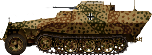 German Half Tracks SdKfz-251-23_Ausf-D_mitt2cm_zps8f149fd4